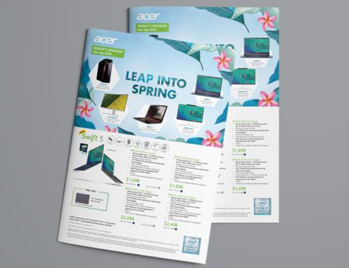 Acer Flyers & Web Banners